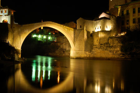 Old Bridge a Mostar, bosnia