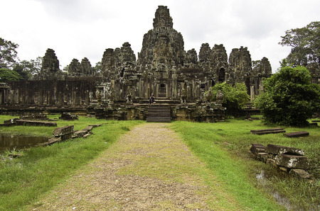 The temple of Angkor wat in Canbodia Banque d'images - 111211770