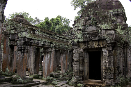 The temple of Angkor wat in Canbodia Banque d'images - 111211836