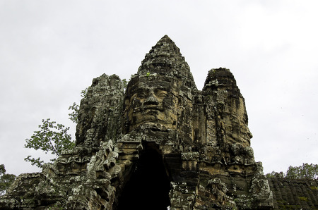 The temple of Angkor wat in Canbodia Banque d'images - 111211844