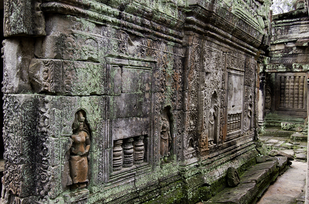 The temple of Angkor wat in Canbodia Banque d'images - 111211887