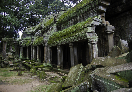 The temple of Angkor wat in Canbodia Banque d'images - 111211939