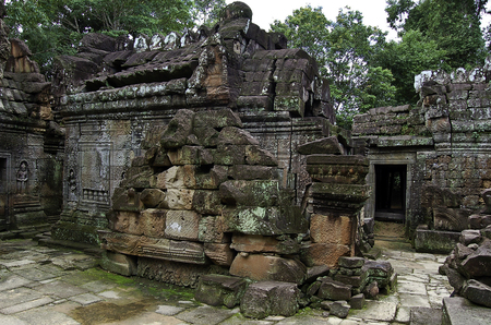 The temple of Angkor wat in Canbodia Banque d'images - 111211941