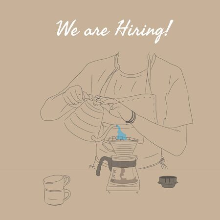 Cafe Barista Coffee Maker Hiring Post