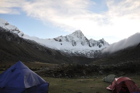 alpamayo: Taulliraju - Cordillera blanca - Trek Santa Cruz