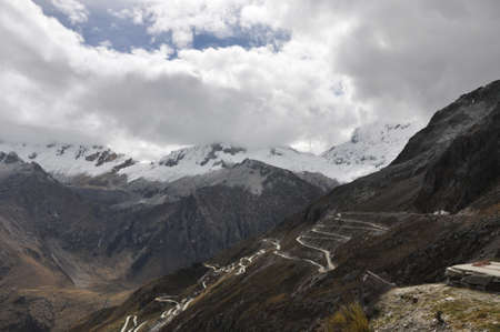 cordillera: Cordillera blanca - Nevado Pisco