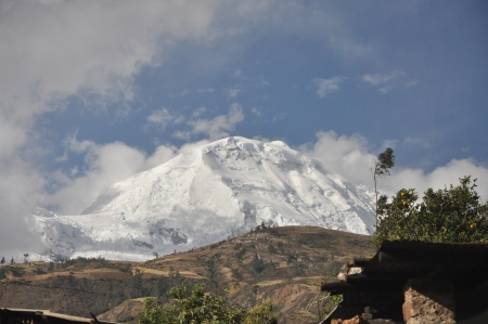 Cordillera blanca - Huascaran photo