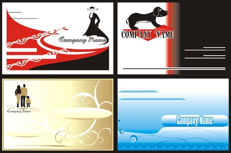 Logo. Business cards. Corporative style Vector