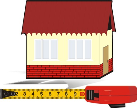 Measure meter. Logo. Vector Vector