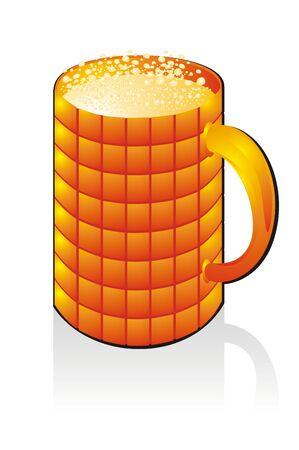 Mug with drink. Vector Stock Vector - 4066615
