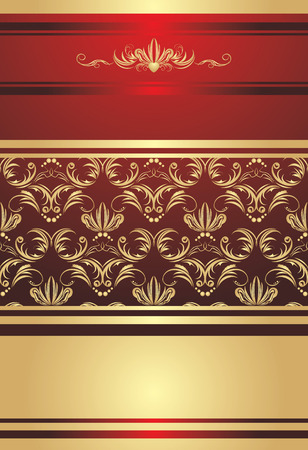 Ornament for decorative background. Wrapping. Vector