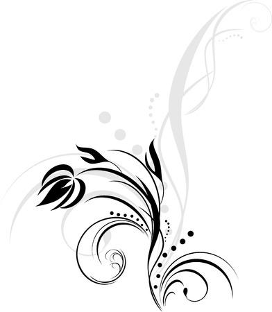 Floral element for design Stock Vector - 7151097