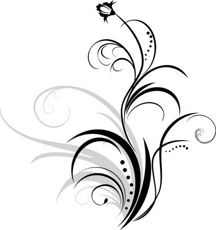 a sprig: Ramita. Elemento floral para decoraci�n
