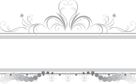 decorative style: Borders with ornament Illustration