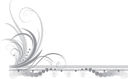 Border with ornament. Title Stock Vector - 7441967
