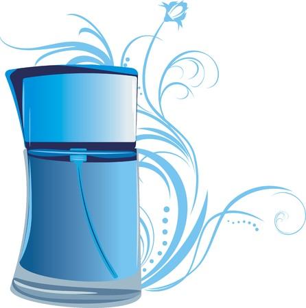 Parfum voor mannen Vector Illustratie