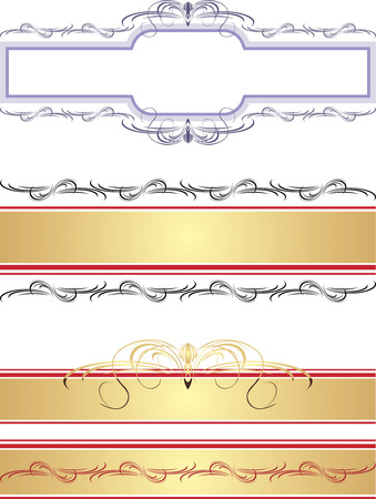 Borders and frames Stock Vector - 7467942