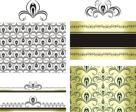 decorative item: Patterns for decorative borders and frames