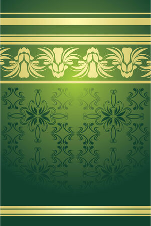 Decorative background with east ornament Vector