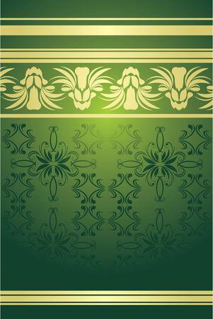 Fondo decorativo con ornamentos de Oriente