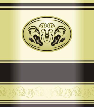 Decorative retro background. Wrapping Stock Vector - 8042020