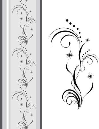 Decorative element for design of ribbon Stock Vector - 8042022