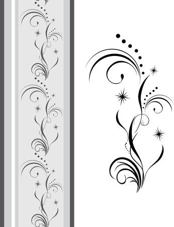 decorative item: Decorative element for design of ribbon Illustration