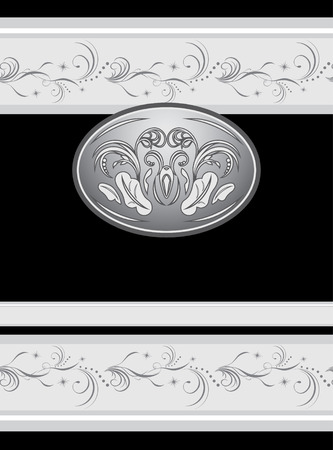Decorative element for design of wrapping Stock Vector - 8042023
