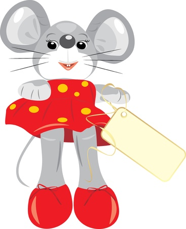 A mouse is children toy Vector