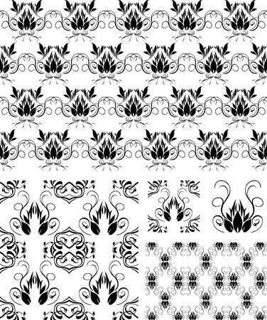 Ornaments for decorative backgrounds Stock Vector - 9719975