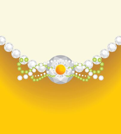 jewelry design: Decorative background for jewelry design