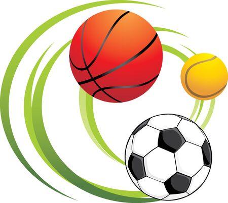 Sporting balls Vector