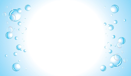 Drops background. Banner Vectores