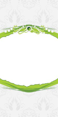 Shining stresses on the decorative background. Jewelry design Vector