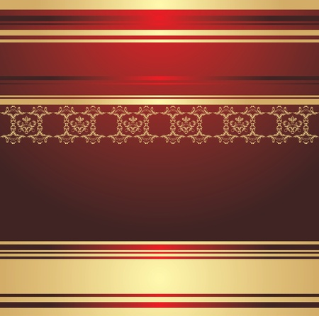 Abstract decorative background for holiday wrapping Vector