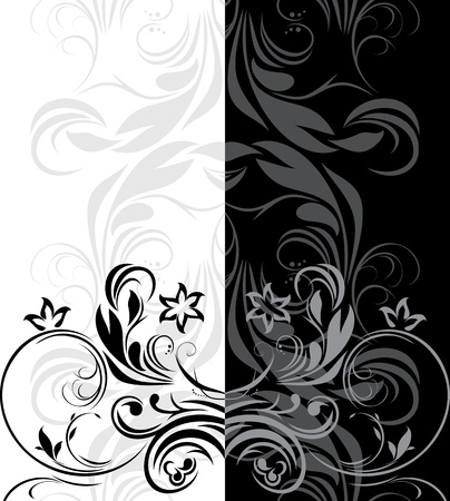 Ornamental borders for decor Illustration