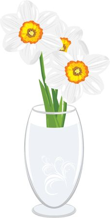 capacity: Daffodils in a vase