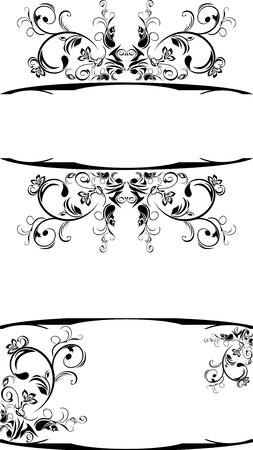 Ornamental frames for decor Vektorové ilustrace