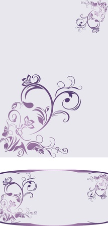 Ornamental backgrounds for decor Vector