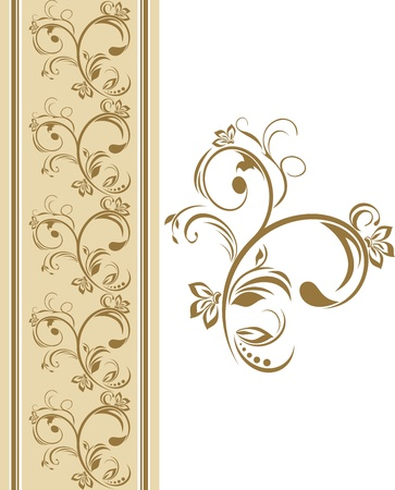 rococo: Ornamental border Illustration