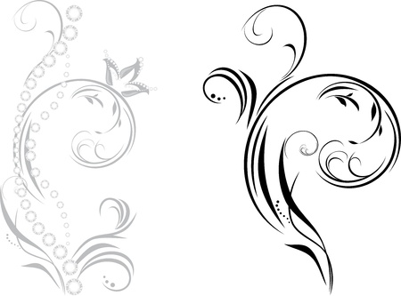 diamond clip art: Ornamental element with shining strasses