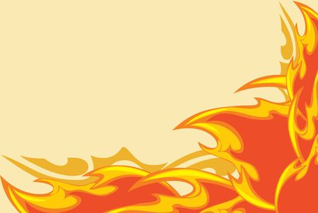 Abstract fiery background Stock Vector - 14984785