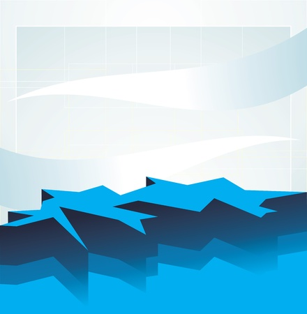 crackling: Abstract crackling background Illustration