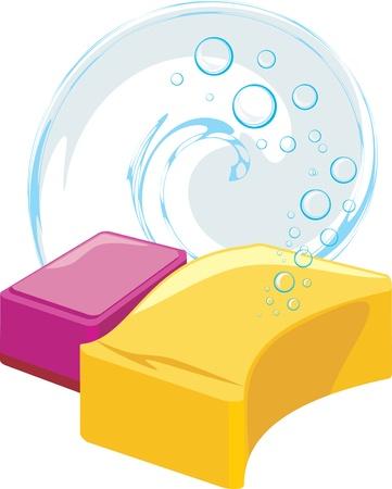 soapy: Esponjas con burbujas de jab�n