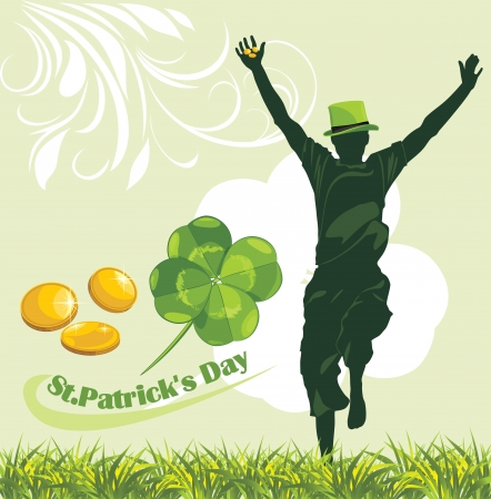 St  Patrick s Day  Holiday banner Vector