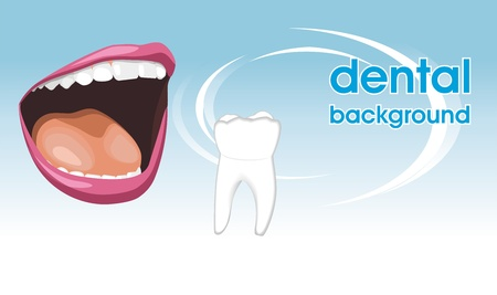 Dental care  Background for design Vector