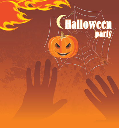 stocky: Halloween party  Abstract background Illustration