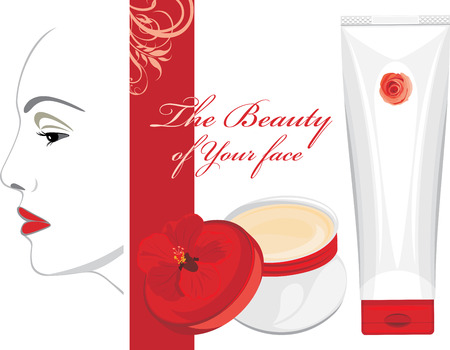 woman face cream: Face cream  The beauty of Your face