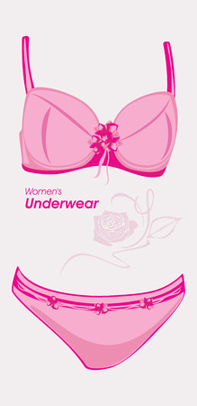 chic panties: Women underwear  Label for design