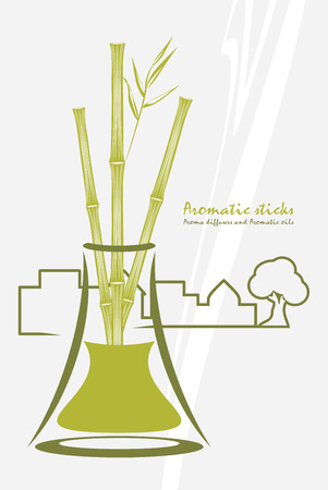 aromatic: Bamboo aromatic sticks. Aroma diffusers and aromatic oils